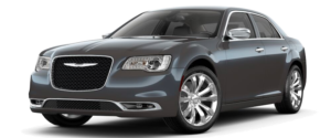 Gunmetal 2018 used Chrysler 300 facing left