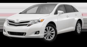 White Used Toyota Venza