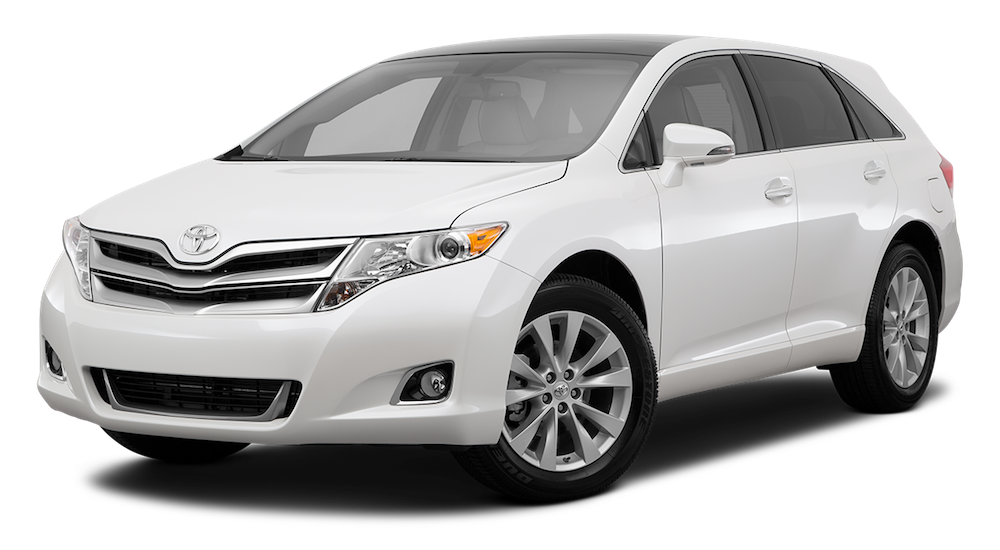 White Used Toyota Venza facing left