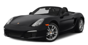 A black used Porsche Boxter / Cayman from McCluskey Auto