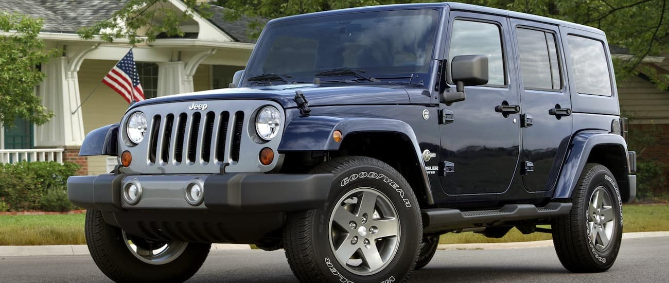 Used Jeep Wrangler - McCluskey Automotive