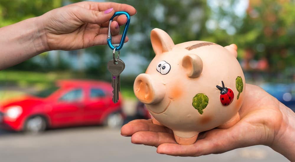 Trading a piggy bank for used cars Dayton Ohio