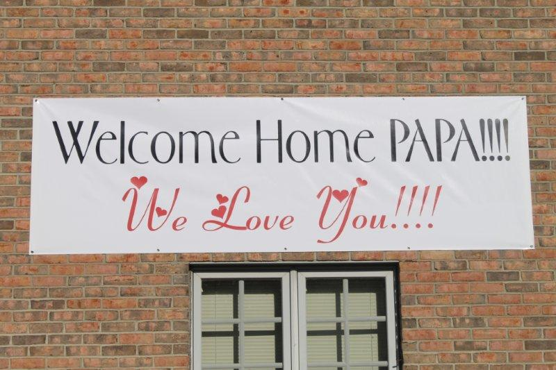 Welcome Home Sign picture