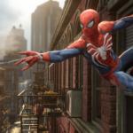 Spiderman Swinging from Building in Cincinnati
