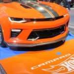 2018 Hotwheels Chevrolet Camaro in Orange at Expo