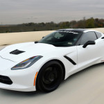 C7 hits 200 mph on a toll road