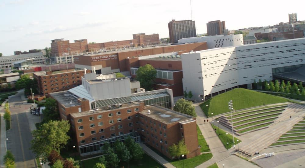 University of Cincinnati view from above