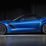 Blue 2015 Chevy Corvette Showcase