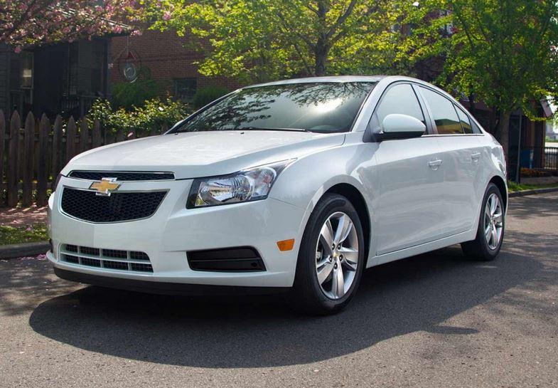 2014 White Cruze used car dealers Cincinnati