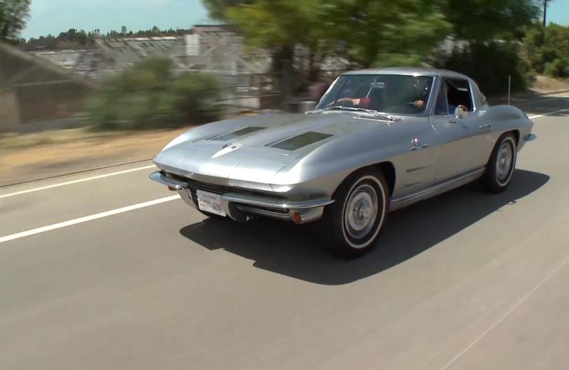 Jay Leno's '63 Corvette used car lots Cincinnati Ohio