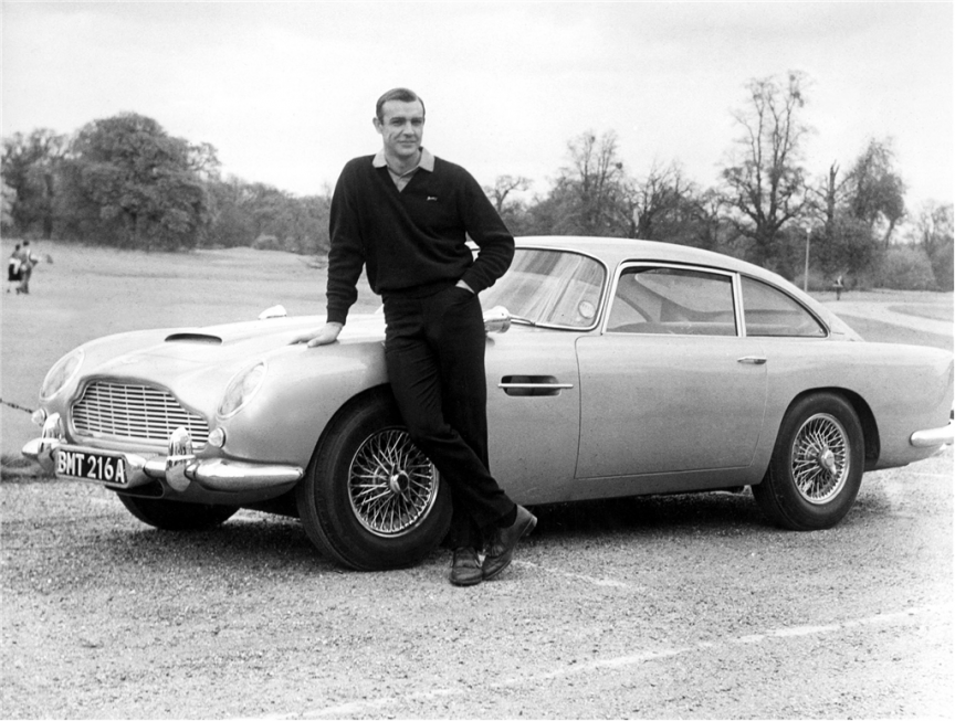 1964 Aston Martin DB5 Chevy dealers