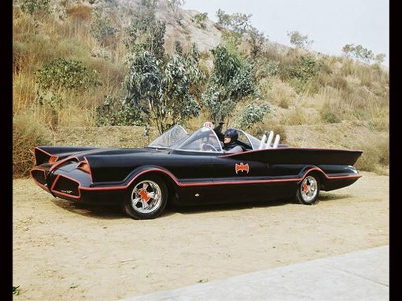 A black Batmobile Chevy dealers