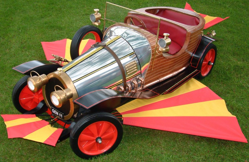 Chitty Chitty Car Chevy dealers
