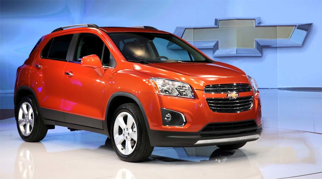 A red Chevy Trax Used Cars Cincinnati