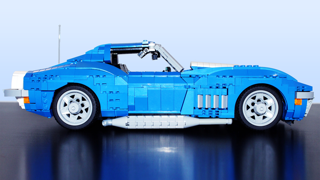 Blue Lego '69 Corvette Used Cars Cincinnati Ohio