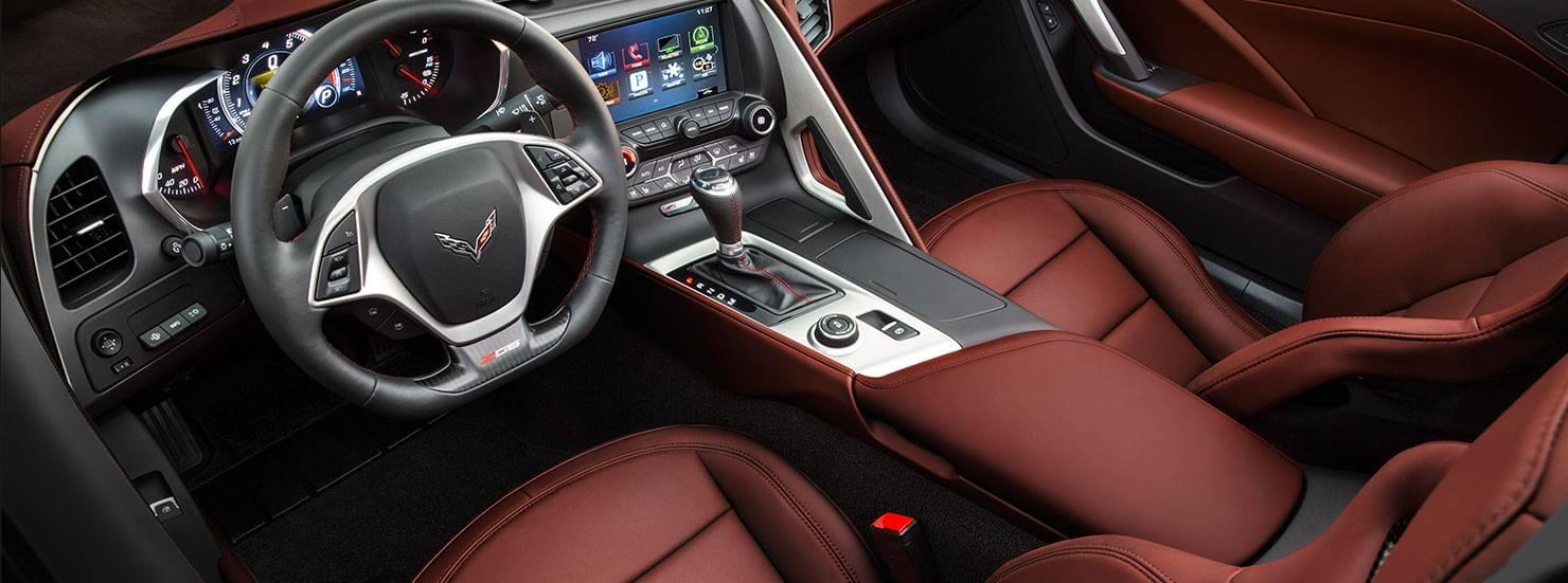 2016 Chevy Corvette Interior