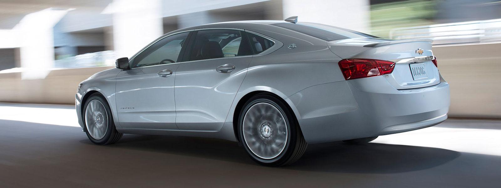 White 2016 Chevy Impala