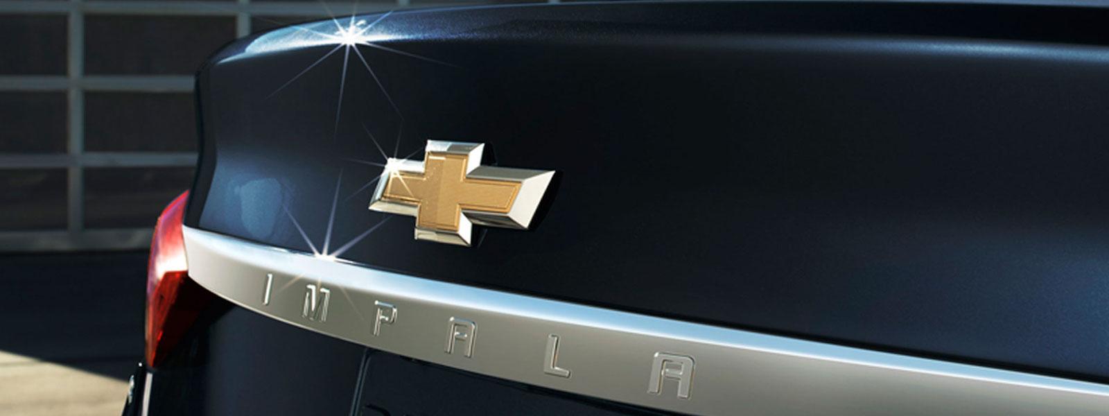 2016 Chevy Impala in black