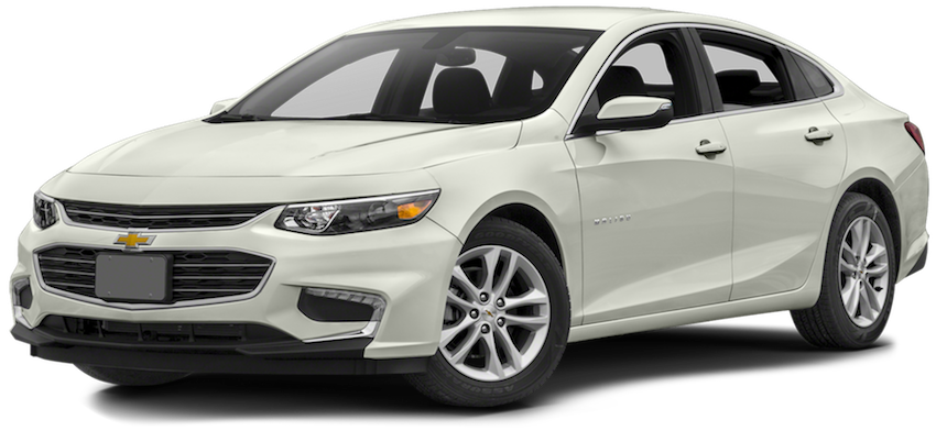 White 2016 Chevy Malibu