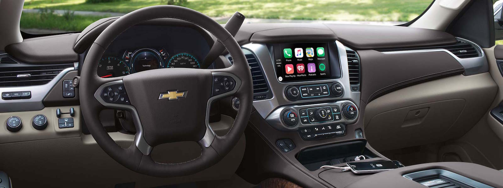 2016 Chevy Tahoe interior