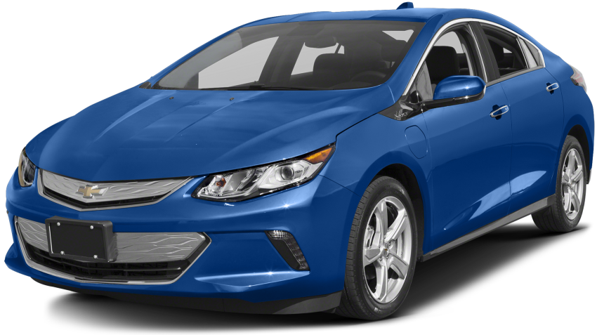 Blue 2017 Chevy Volt
