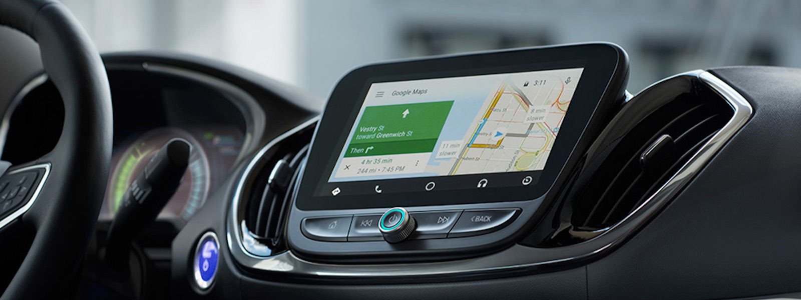 The 2017 Chevy Volt Interior design and navigation.