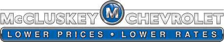 The McCluskey Chevy dealer logo is shown.