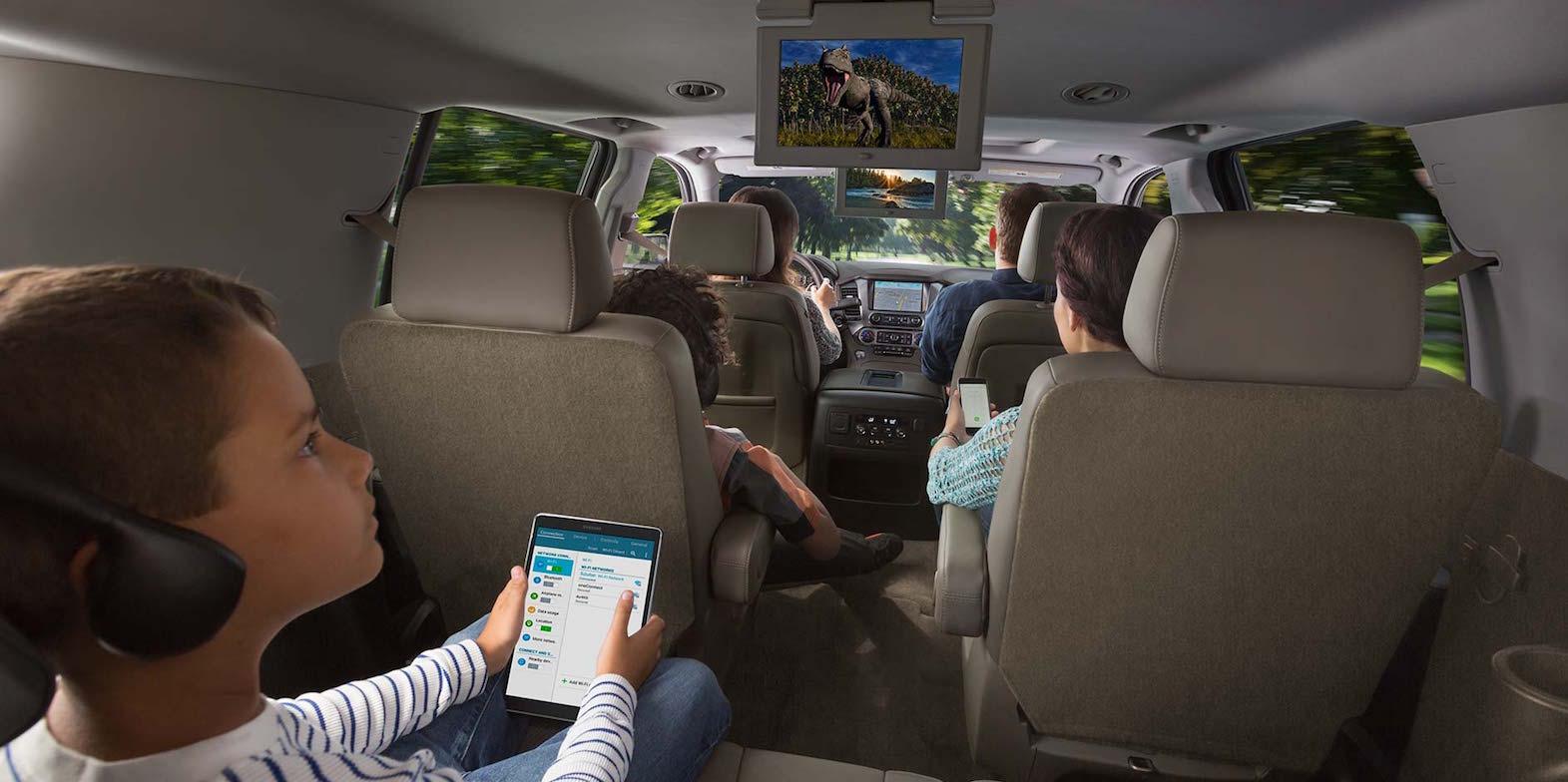 2016 Chevy Suburban Interior