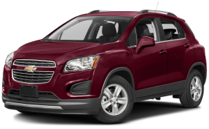 Red 2016 Chevy Trax