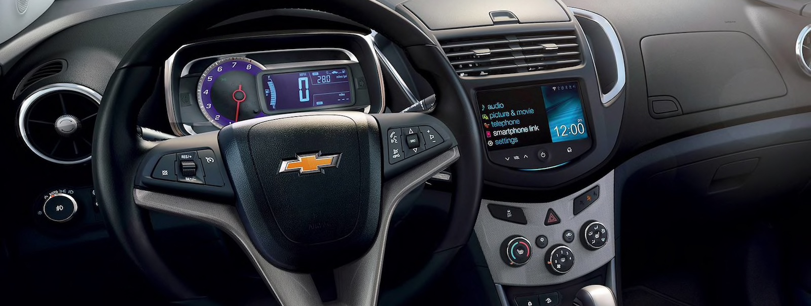 2016 Chevy Trax interior