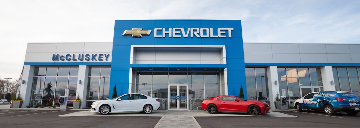 McCluskey Chevrolet Banner