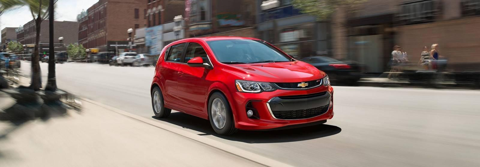 2017 Chevy Sonic Design