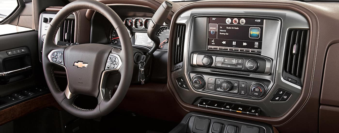 New Chevrolet Silverado Interior