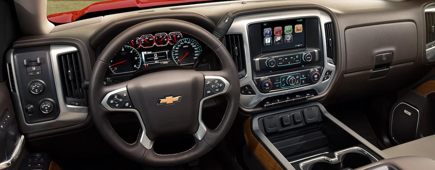 New Chevrolet Silverado Technology