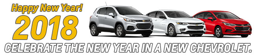 Celebrate The New Year In A New Chevy