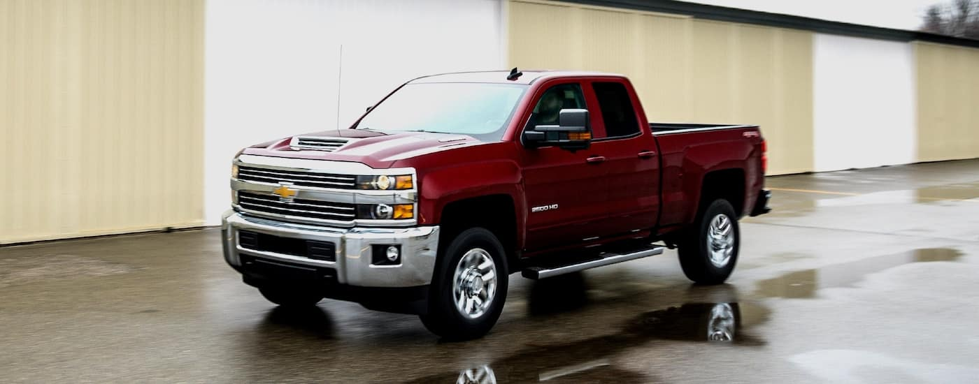New Chevy Silverado 2500HD Design