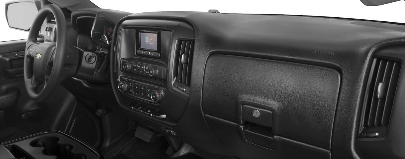 New Chevy Silverado 3500HD Interior