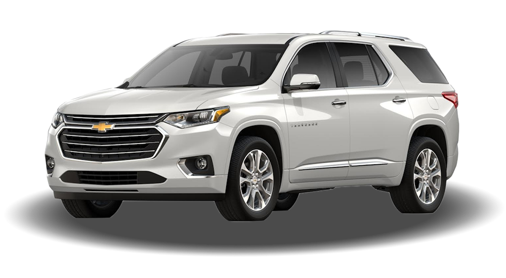 Chevy Traverse Towing Capacity >> 2019 Chevrolet Traverse - McCluskey Chevrolet