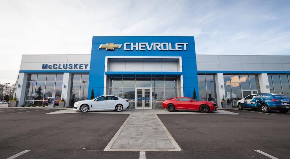 McCluskey Chevrolet Dealership
