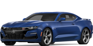Dark blue 2019 Chevy Camaro