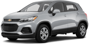 Silver 2019 Chevy Trax