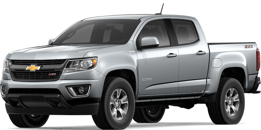 Silver 2019 Chevy Colorado