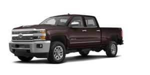 A dark red/brown 2019 Chevy Silverado 2500hd from McCluskey Chevy