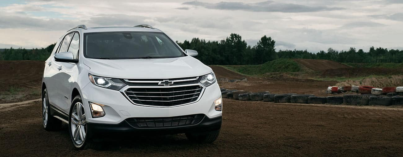 A white 2019 Chevy Equinox vs 2019 Honda CR-V, see who is best on the road