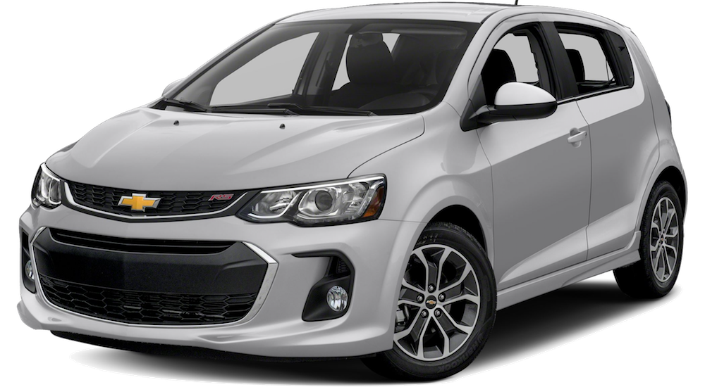 Silver 2019 Chevy Sonic