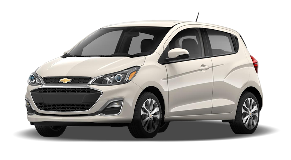 White 2019 Chevy Spark