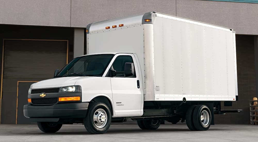 Truck Box For Sale >> Box Trucks For Sale Mccluskey Chevrolet