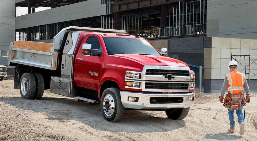 Passenger Vans to Dump Trucks: The Chevy Commercial Lineup