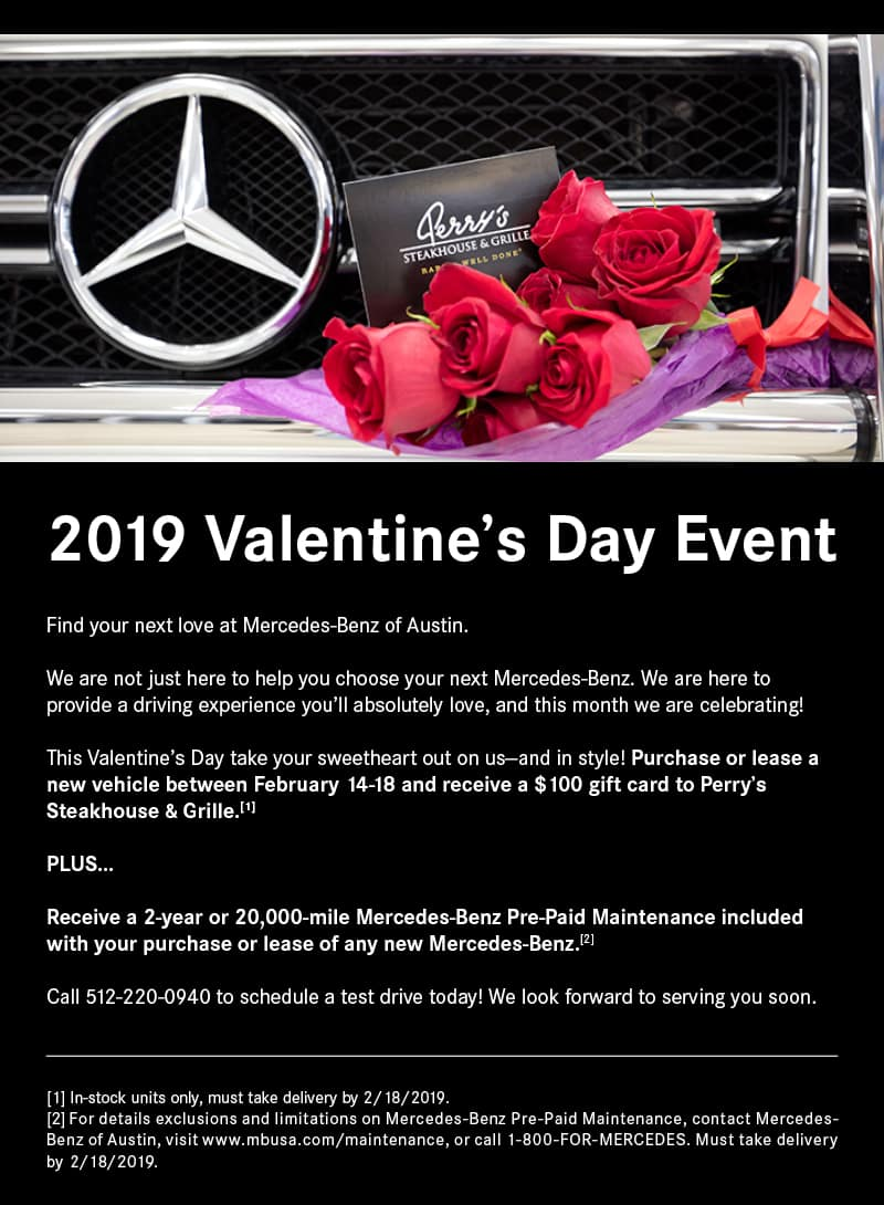 Mercedes-Benz of Austin Valentine's Day Event