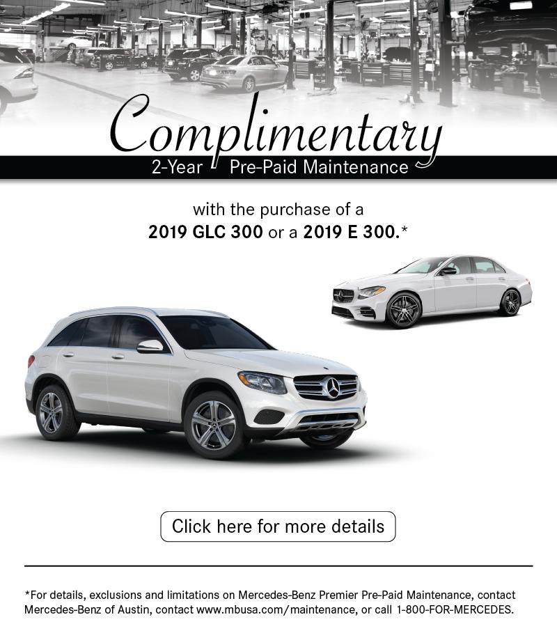 Mercedes-Benz Pre-Paid Maintenance